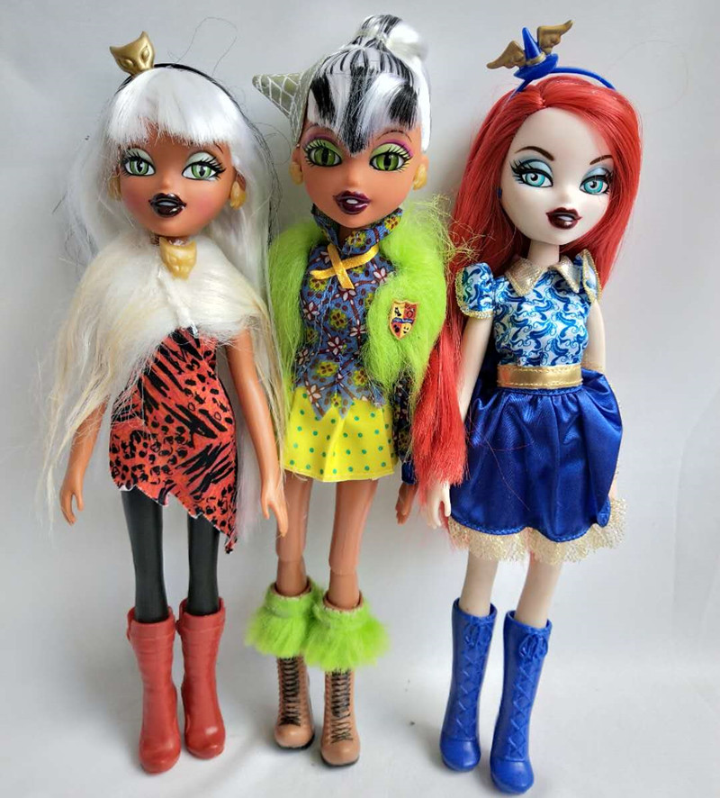 Hot  SALE Fashion Action Figure Bratz Bratzillaz Doll Dress Uo Toy Play House Toy Multiple Choice Best Gift For Child