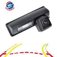Intelligent Dynamic Trajectory Tracks Parking Line Reverse Backup Rear View Mirror Camera For Toyota Camry 2007 2012