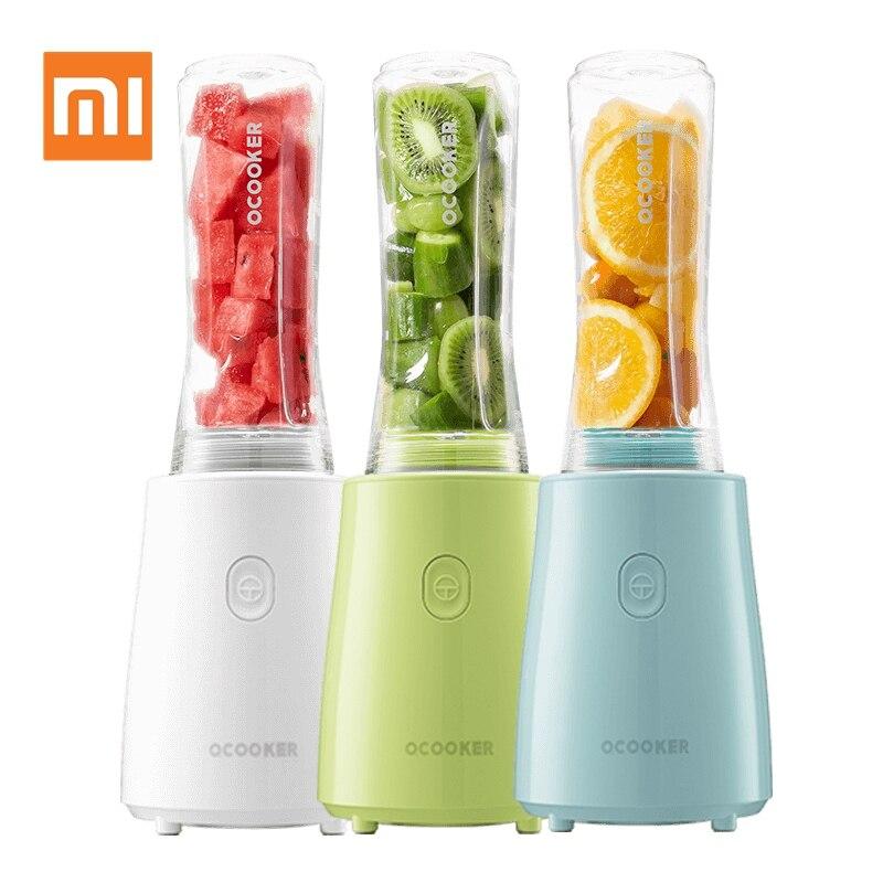 Xiaomi Mijia ocuiseur presse-agrumes Portable en acier inoxydable fruits légumes Mini cuisson jus d'orange Machine mélangeur robot culinaire