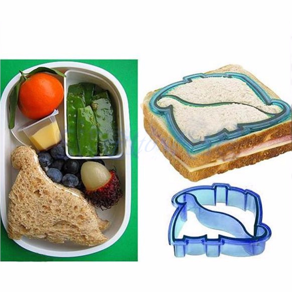 Lovely Kids Lunch Sandwich Toast Cookies Cake Bread Biscuit Food Cutter Mold Mar