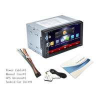 Foval 7 Inch 2 Din Multimedia 1024 600 Capacitive Screen Function Car MP3 MP4 MP5 Built