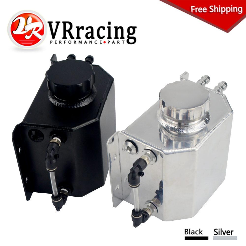 FREE SHIPPING - 1L Aluminum Coolant Radiator Overflow Recovery Water Tank Bottle Reservoir VR-TK57
