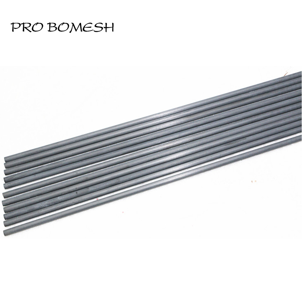 Pro Bomesh 2PCS/Lot 1.4M 1.33M 1.48M 1.62M 1 Section UL Solid Carbon Fiber Fishing Rod Trout Rod Blank DIY Rod Building Blank вибротвистер trout pro catepillar длина 6 см 10 шт 35504