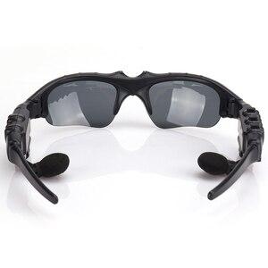 Image 5 - Óculos de sol smart com bluetooth, óculos de proteção solar wireless e com fones de ouvido e microfone para smartphones, permite praticar esportes