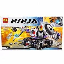 Bela 10221 Ninja Destructoid Building Block Sets Educational DIY Toys Bricks Enlightenment Assembled toys
