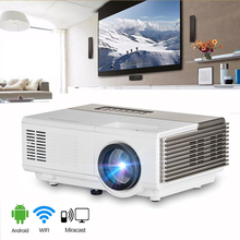 Mini LED Projector wifi USB HDMI VGA port Ideal home projector smartphone projector portable video