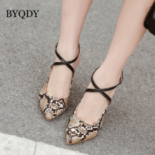 BYQDY 2019 Spring Autumn New Fashion Snake Printing Women High Heels Stiletto Shoes 10cm Sexy Pumps Party Wedding shoes byqdy wholesale girls spring sexy high heels women platform shoes peep toe pumps autumn wedding shoes women crystal pumps party