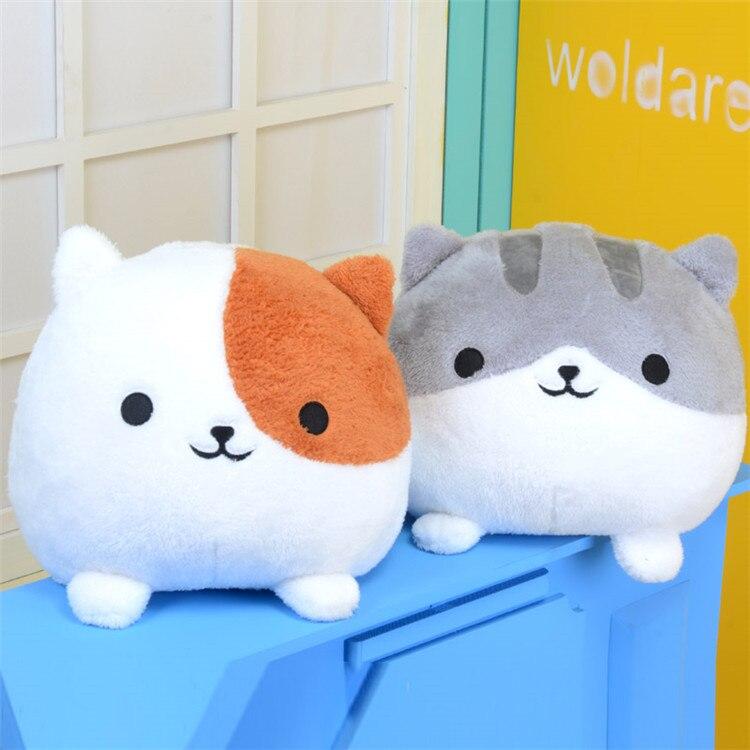In stock Cute Neko Atsume cat pillow plush toy birthday gift doll cos pros children s day ...