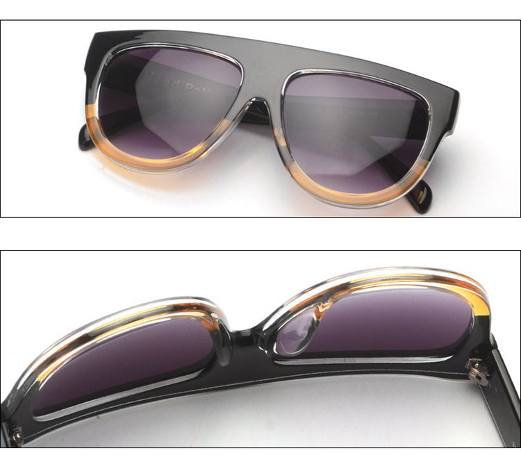 Flat Top Mirror Sunglasses - Fashion Trendy Shop