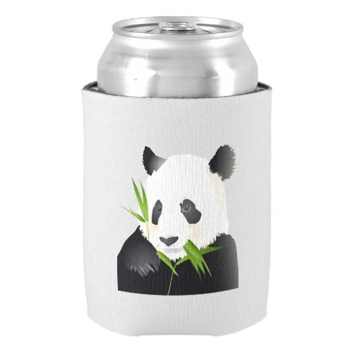 Panda Bear Can Cooler Baby Shower Birthday Favors Gift Beverage