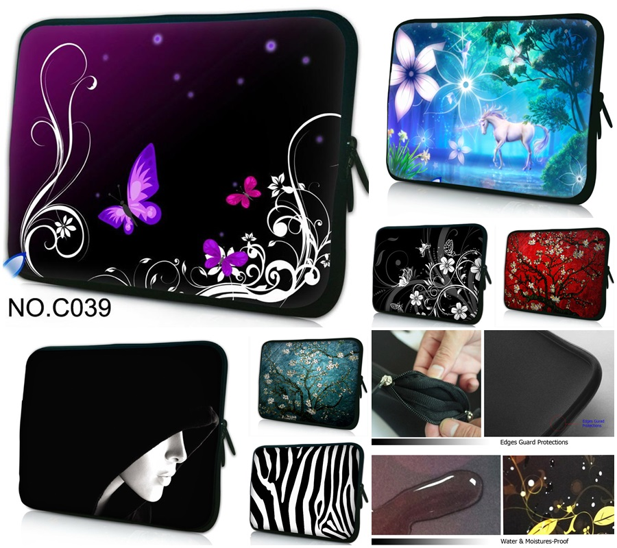 New 11 12 13 14 15 Inch Laptop Bag Notebook Handbag Case Cover Pounch For Macbook Air Pro Retina Lenovo Dell Asus