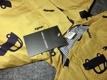 Kids Boys Girls Jacket Outerwear Print Clothing