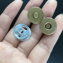 10 Sets 14mm/18mm Metal Magnetic Snap Fasteners Clasps Buttons Handbag Purse Wallet Craft Bags Parts Accessories(China)