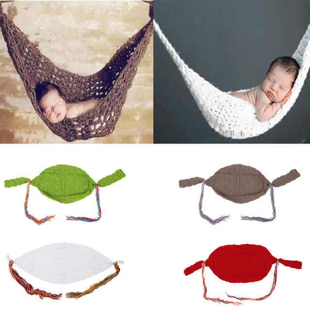 4 colors crochet baby hammock photography props knitted newborn infant costume toddler photo props hot 4 colors crochet baby hammock photography props knitted newborn      rh   aliexpress