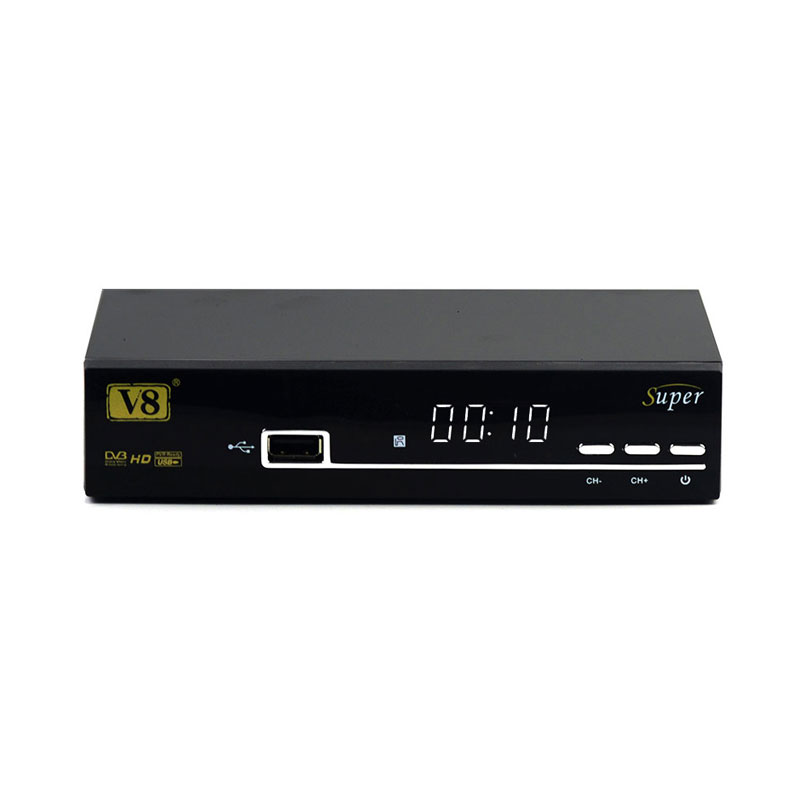 Freesat V8 super DVB-S2 support Europe Cccam Server HD 1080 powervu biss key Satellite Receiver set TV BOX with USB WiFi
