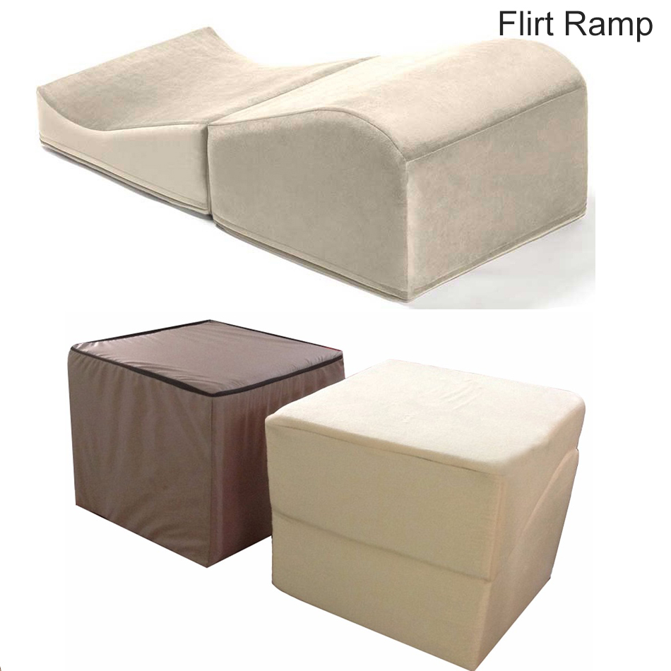 Attrayant 84 * 42 * 28CM Foldable Sponge Sex Pad Sofa Couples Game Different Postures  Pillow Flip Ramp Wedge Chair Adult Furniture Toys In Sex Furniture From  Beauty ...