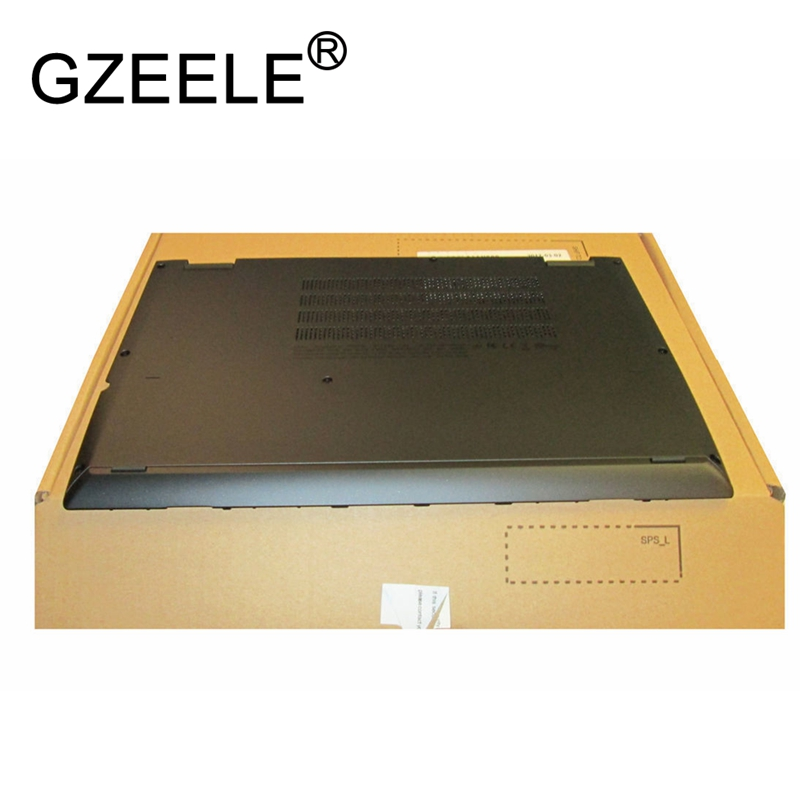 GZEELE New for Lenovo for ThinkPad Yoga 260 Bottom Base Cover Lower Case Black 01AX900 00HT414 gzeele new laptop lcd top cover case for lenovo for thinkpad t450s bottom case base cover 00pa886 am0tw000100 w dock lower case
