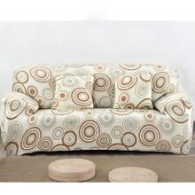 Antideslizante Cubierta de la Funda de Sofá Muebles Grande Elástico Impreso Sofá Cubierta de Una/Dos/Tres/Cuatro plazas