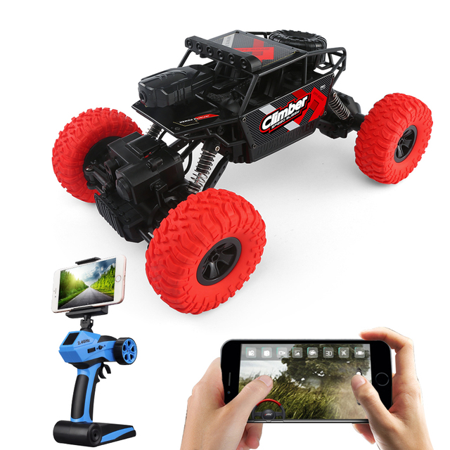 Us 59 82 30 Off Jjrc Q45 Remote Control Car 4wd Hd Camera Wifi Fpv 1 18 2 4g Off Road Rc Car Toys Beach Dune Off Road Vehicles In Rc Cars From Toys