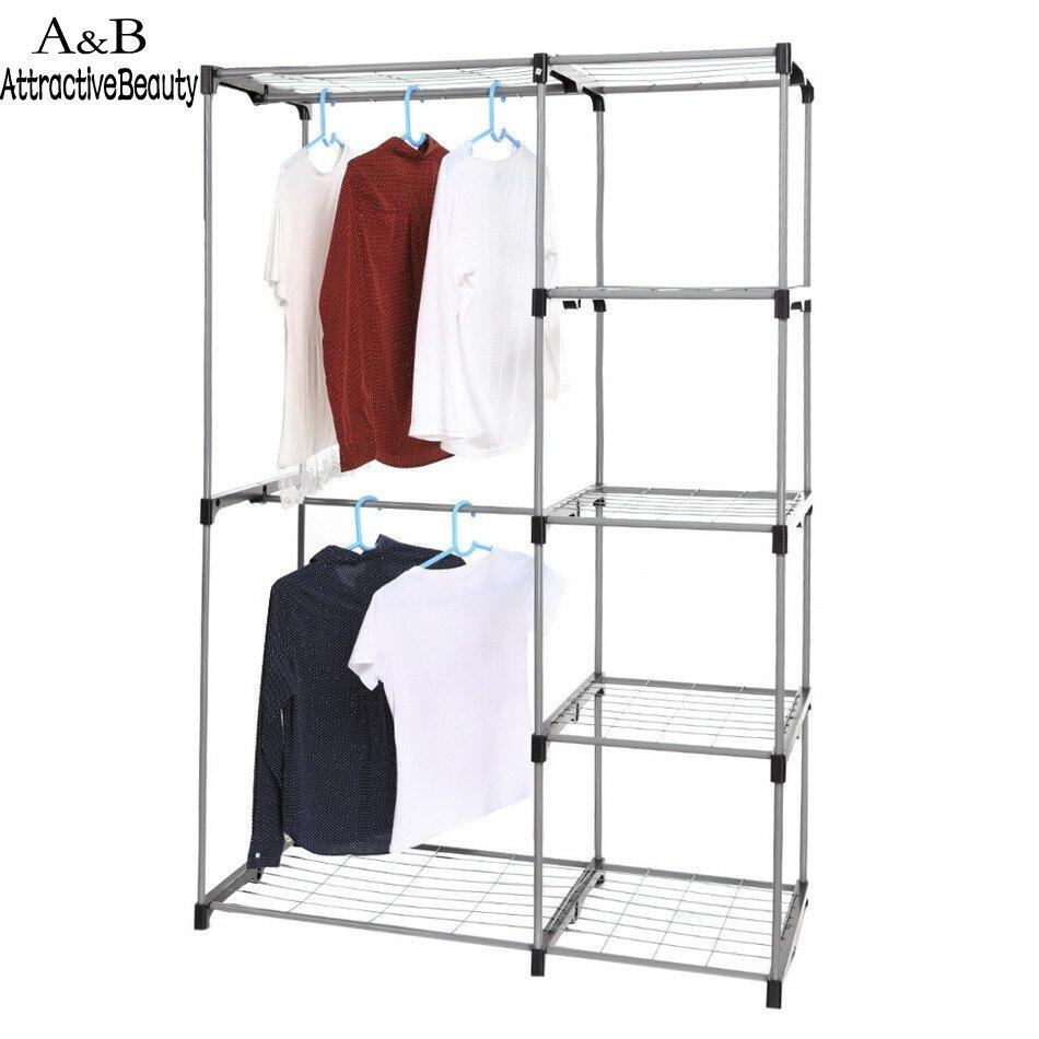 Barras para colgar ropa armarios awesome armario - Burra para colgar ropa ...