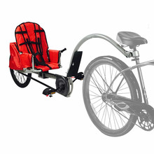 Children s Bicycle Trailer Suit For 3 10ages Kids 1 Passenger Bicycle Trailer Single Baby Bike