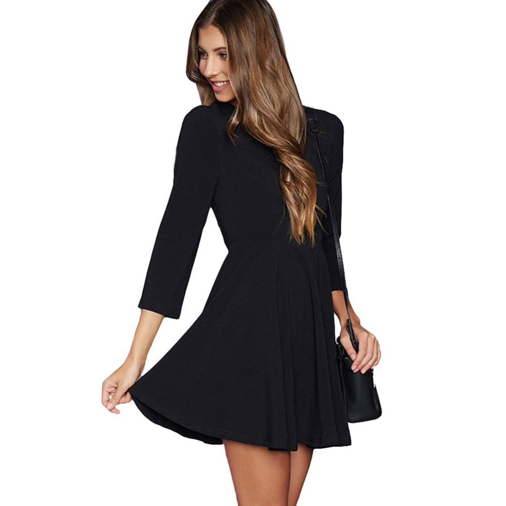 Compare Prices on Black Backless Dress Long Sleeve- Online ...