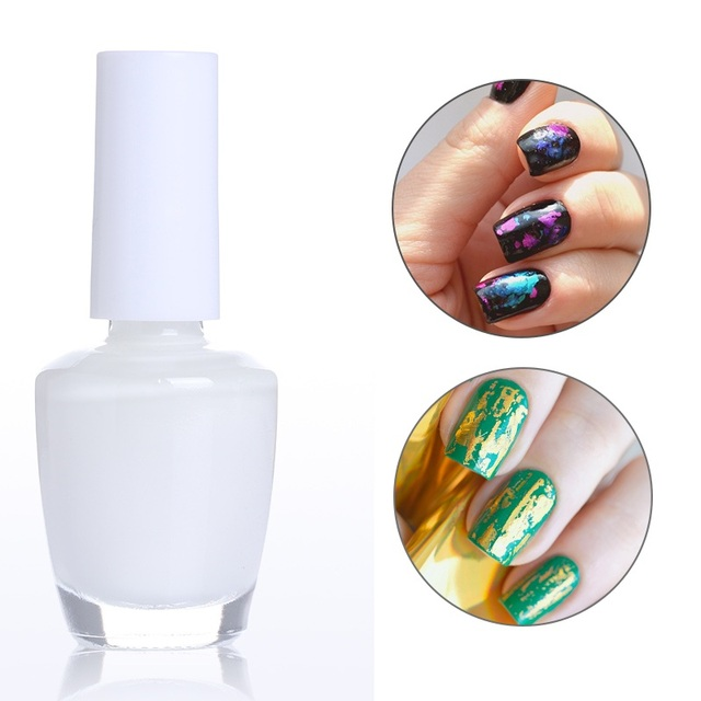 1 Bottle 8ml Nail Foil Adhesive Glue Star Glue For Nail Foils ...