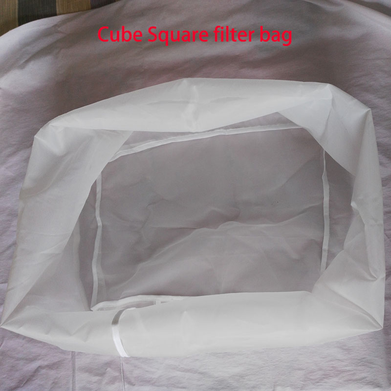 Подгонянный прямоугольный охладитель Mash Tun фильтр-мешок для пищевых продуктов Mash фильтр-мешок для кубиков квадратная коробка для пива Homebrew ...
