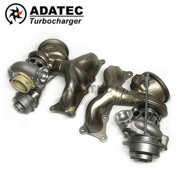 TD03 turbolader TD03L4-10TK3-4.9 49131-07308 49131-07327 11657593020 turbo cho BMW X6 35 iX E71 225 Kw-Hl3d- 306 HP N54B30 2007-