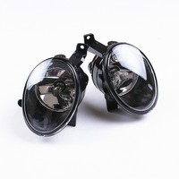 DE SOUL 2 Pcs Left Right Front Bumper Fog Lights Fit VW Jetta 6 Golf MK6