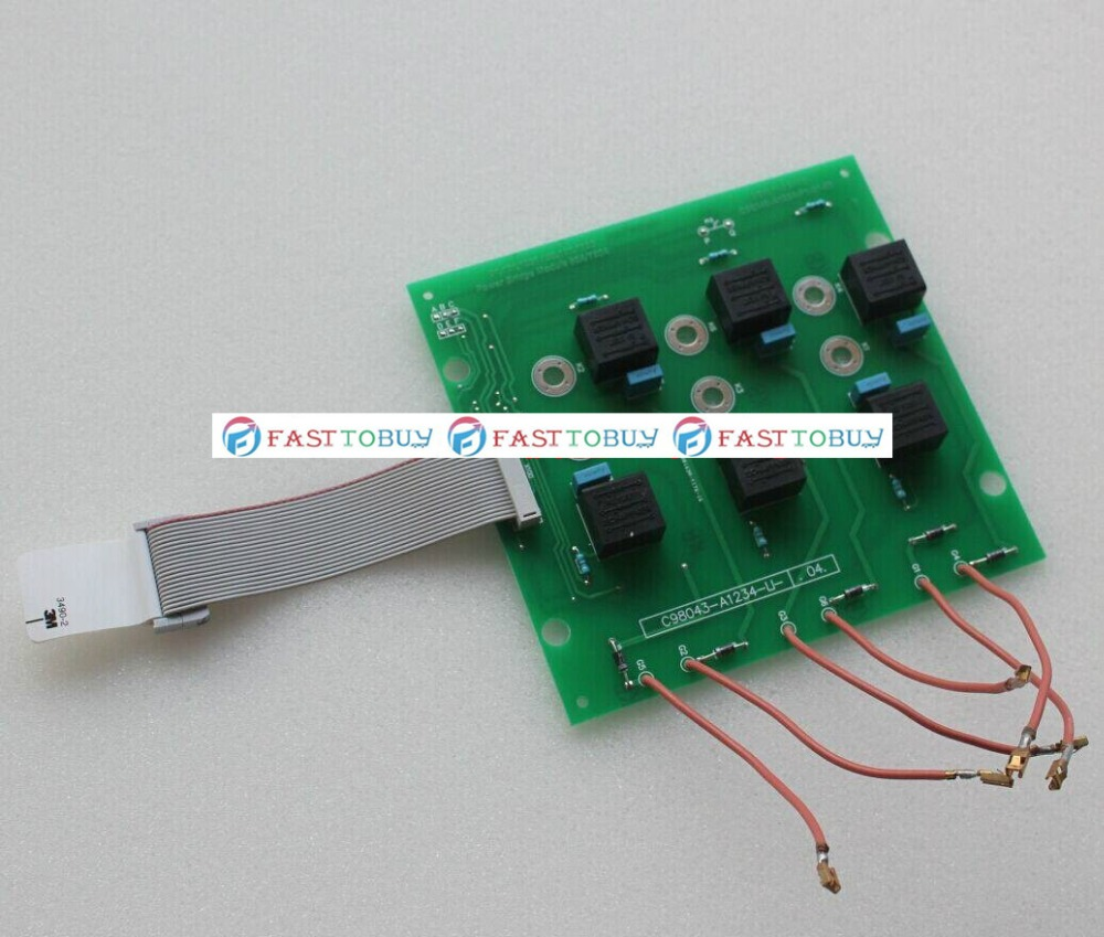 91.191.1051 SBM SCR pulse trigger plate (C98043-A1234-L1) compatible board for Heidelberg MO SM74 machine new цена