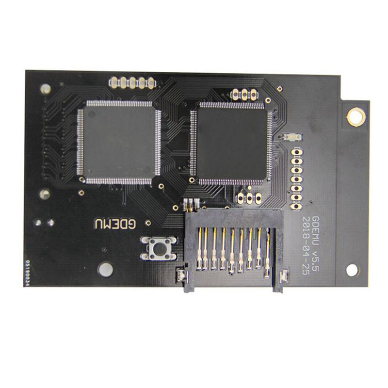 Optical Drive Simulation Board for DC Game Machine the Second Generation Built in Free Disk replacement for Full New GDEMU Gam-in Harddisk & Boxs from Consumer Electronics