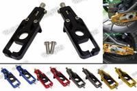 waase CNC Aluminum Chain Adjusters Tensioners Catena For Honda CBR600RR CBR 600 RR Fireblade F5 PC40 2013 2014 2015 2016