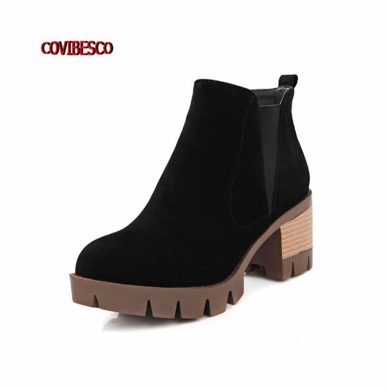 Popular Chunky Heel Platform Boots-Buy Cheap Chunky Heel Platform ...