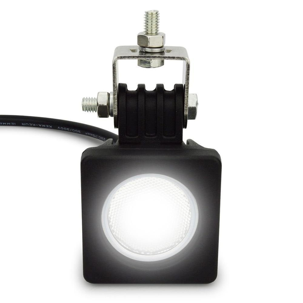 2pcs 10W οδήγησε LED φως 12V αυτοκίνητο SUV - Φώτα αυτοκινήτων - Φωτογραφία 5