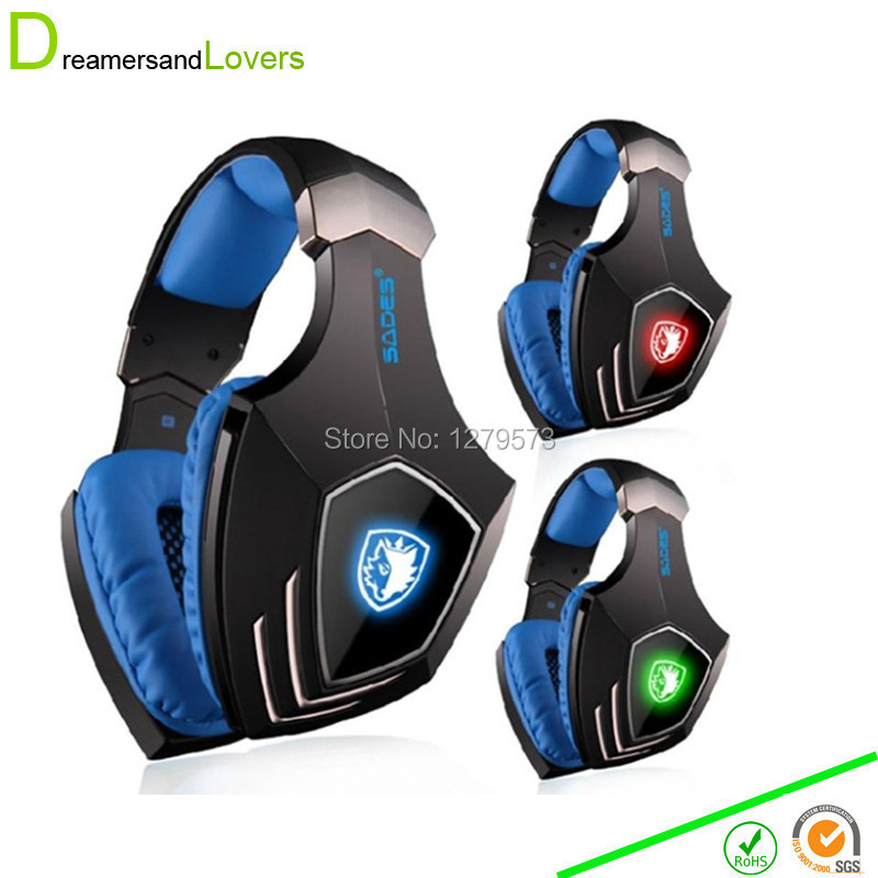 7.1 Surround Sound Wired Gaming Headsets Headphones with Mic Vibration Noise Isolating Volume Control LED Light For Computer PC usb 7 1 surround sound vibration stereo led gaming headsets headphone with mic for pc games