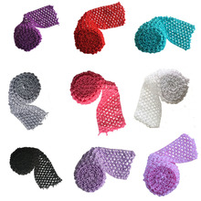 Tutu bands Stretchy 2 75inch wide Crochet Elastic Waistband by the Meter for tutu skirt DIY