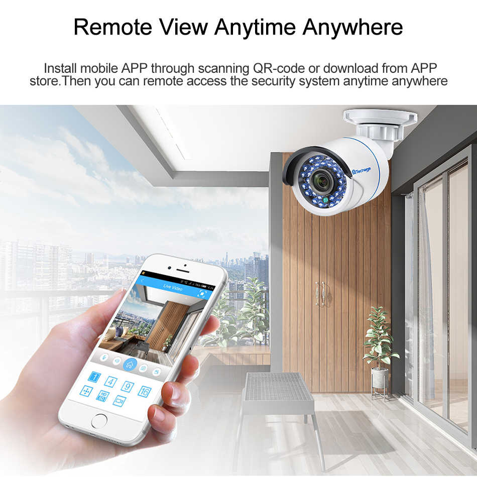 Techage 8CH 1080P Mini NVR كامل HD 8 قناة الأمن CCTV NVR ONVIF P2P سحابة شبكة مسجل فيديو ل نظام كاميرا شبكية