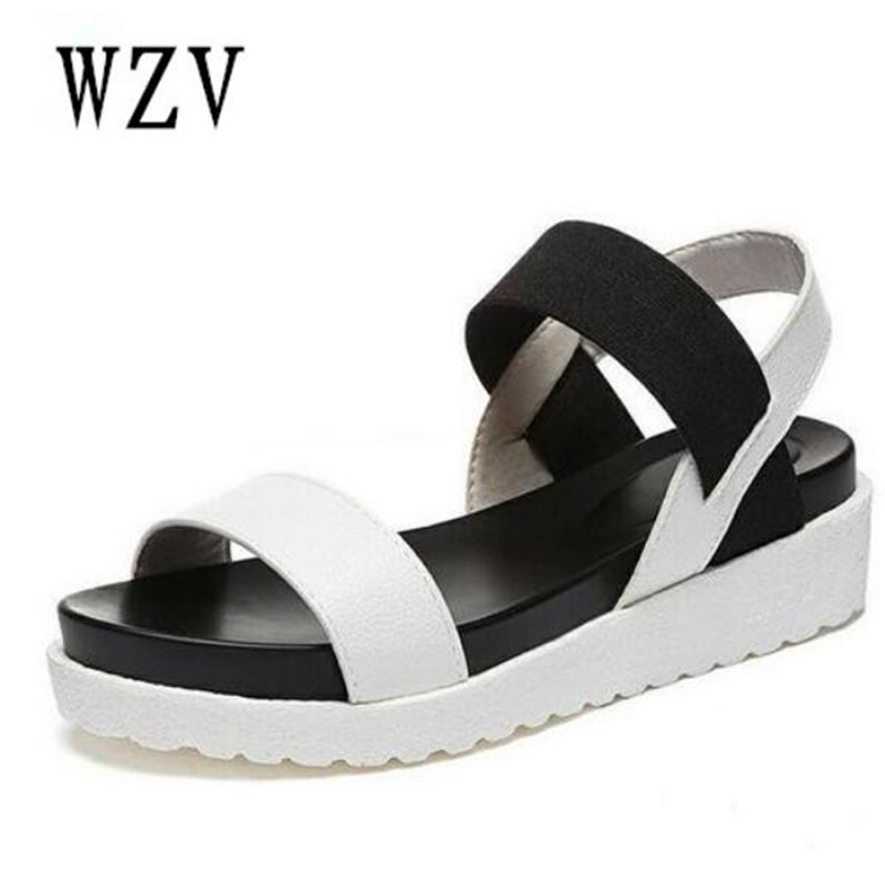 Summer Sandals For Women New Shoes Peep-toe Sandalias Flat Shoes Roman Sandals Shoes Woman Mujer Ladies Flip Flops Footwear B134 hot sale women sandals women summer shoes peep toe flat shoes roman sandals mujer sandalias ladies flip flops sandal footwear