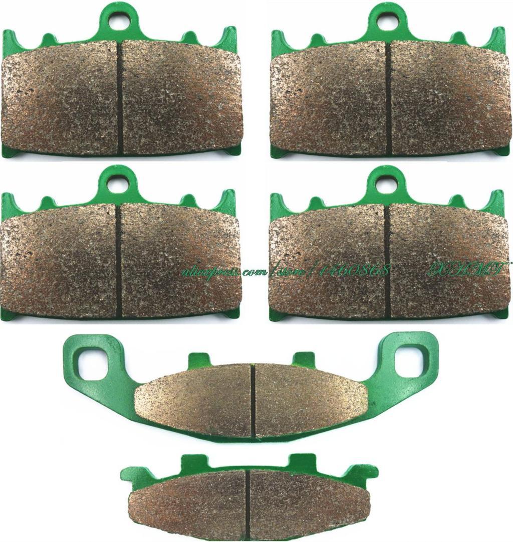 Дисковые Тормозные колодки комплект для Kawasaki ZZR1100 ZX1100 ZZR1100GT СЗР 1100 ГТ ( на ZX 1100 с ) 1990 1991 1992