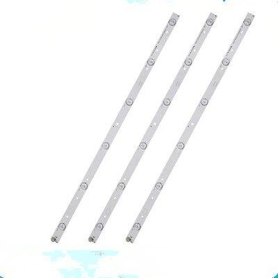 Kit 3 PCS 6LEDs 627mm Strip For 32