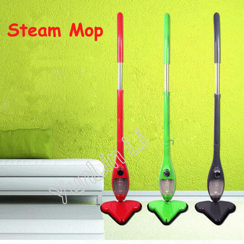 5 in 1 Steam Mop 220V/110V Multi-functional Steam Cleaner Household High Temperature Triangular Cleaning Equipment S032 1400w high temperature steam cleaner mop handheld kitchen steam cleaning machine sc1 household steam cleaner