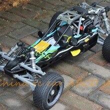 Rc автомобильный 1:5 26cc 4 болта двигателя Baja Walbro 997 Carb ss Tunepipe+ 2,4G передатчик дистанционного управления
