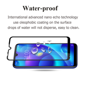 Image 4 - Protective Safety Glass For Xiaomi Mi Play Screen Protector On Xio Mi Play Tempered Glass Full Cover Glue Film Glas
