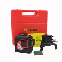 New 3D 12 Red Lines MW 93T 3D 12Lines Laser Level Self Leveling 360 Horizontal Vertical