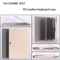 Business Stand Pu Leather Case 12 Inch For Chuwi Tablet PC Keyboard Protective Sleeve For Chuwi