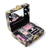 Miss Rose Make Up Gift Box Light Up Travel   Makeup     Set   Eyeshadow Blusher Eyeliner Mascara Eyeliner with Instruction