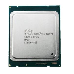 Image 1 - Процессор Intel Xeon E5 2690 V2 3,0 ГГц 25 Мб кэш памяти LGA 2011 SR1A5 серверный процессор