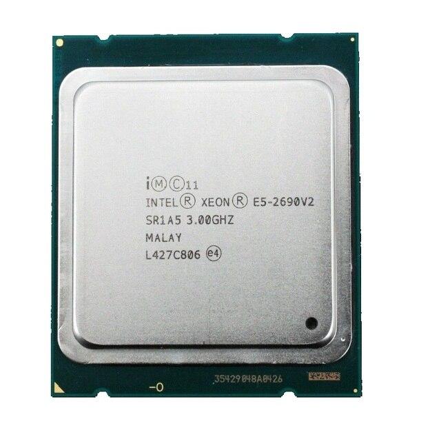 Процессор Intel Xeon E5 2690 V2 3,0 ГГц 25 Мб кэш памяти LGA 2011 SR1A5 серверный процессор