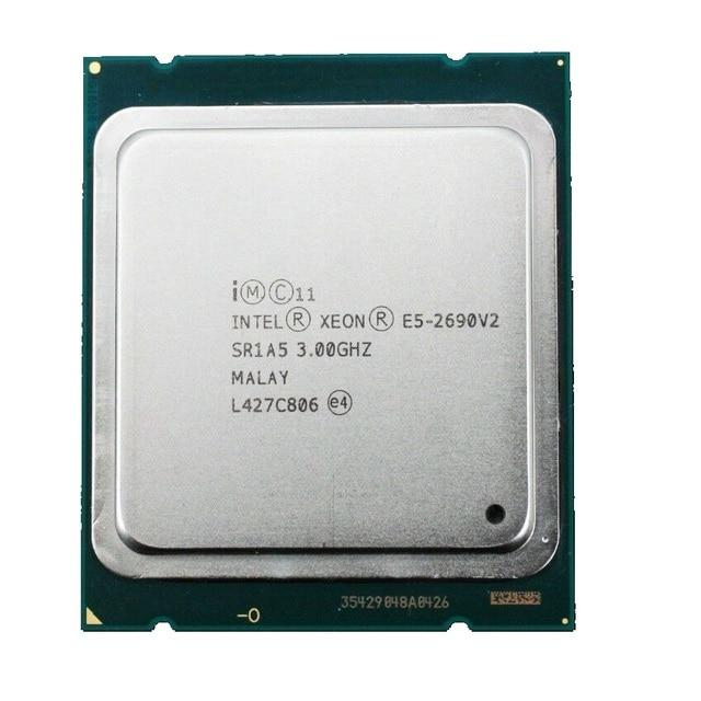 Intel Xeon E5 2690 V2 Processor 3.0GHz 25M Cache LGA 2011 SR1A5 server CPU